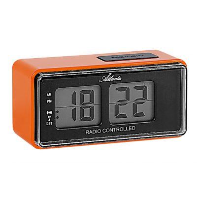 Atlanta 1881/12 RC Alarm Clock with Retro Design 4026934188122