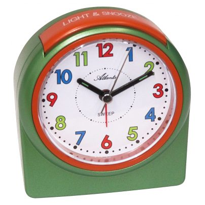Atlanta 1987/6 Kids Alarm Clock with Light and Snooze 4026934198763
