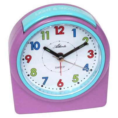 Atlanta 1987/17 Children's Alarm Clock with Light and Snooze 4026934198725