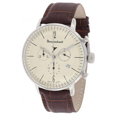 Messerschmitt ME-4H152 Bauhaus Chronograph Herrenuhr 4260186267536