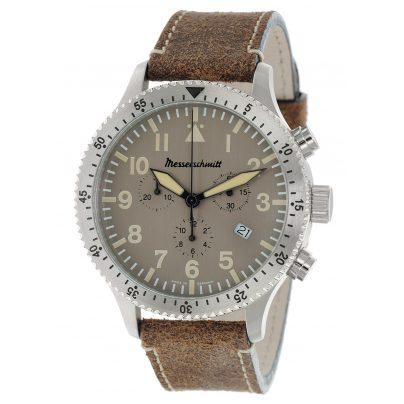 Messerschmitt ME-5030Alu Herrenuhr Chronograph 4260186268250