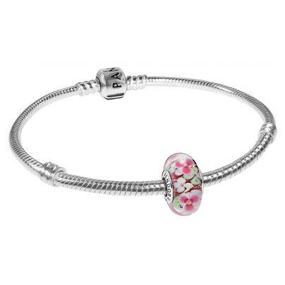 Pandora 35698 Ladies Bracelet Flower Garden 4260435356981