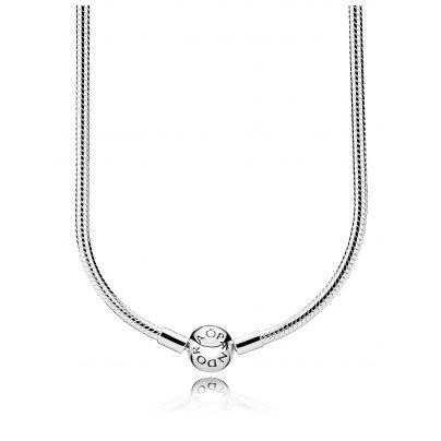 Pandora 590742HV Ladies Necklace Pandora Logo