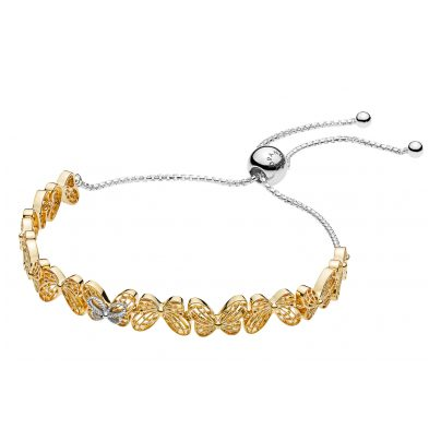 Pandora 567957 Shine Damen-Armband Openwork Butterflies