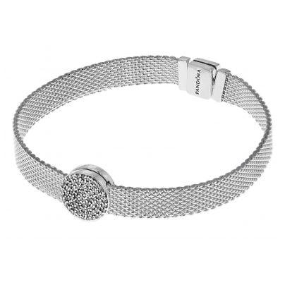 Pandora 75339 Reflexions Damen-Armband mit Clip Charm Eleganz