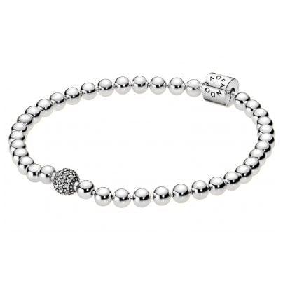 Pandora 598342CZ Armband für Frauen Beads & Pavé