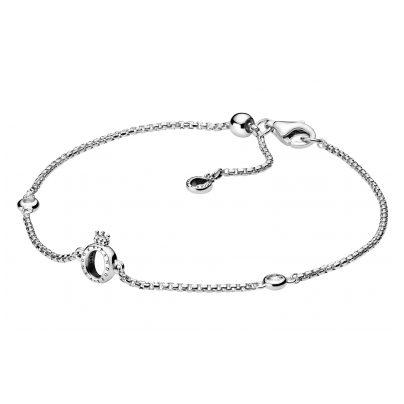 Pandora 598276CZ-20 Damen-Armband Sparkling Crown O 5700302817645