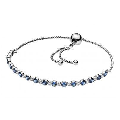 Pandora 598517C01 Ladies' Bracelet Blue & Clear Sparkle