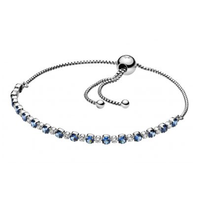 Pandora 598517C01 Damen-Armband Blue & Clear Sparkle