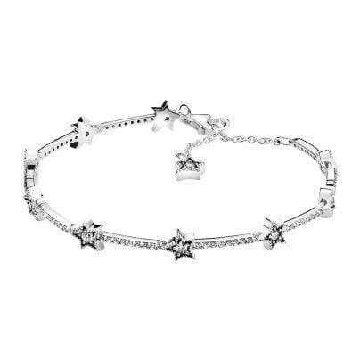 Pandora 598498C01 Damen-Armband Himmlische Sterne