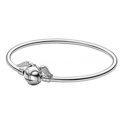 Pandora 598619C00 Silber Damen-Armreif Moments Harry Potter Goldener Schnatz