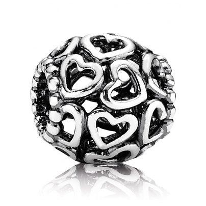 Pandora 790964 Silver Charm Openwork Heart 5700302115338