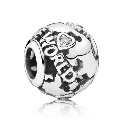 Pandora 791718CZ Charm Around the World 5700302357905