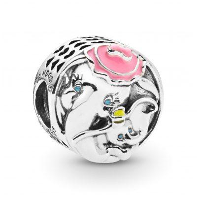 Pandora 797850ENMX Silber Charm Dumbo & Mrs Jumbo 5700302767155