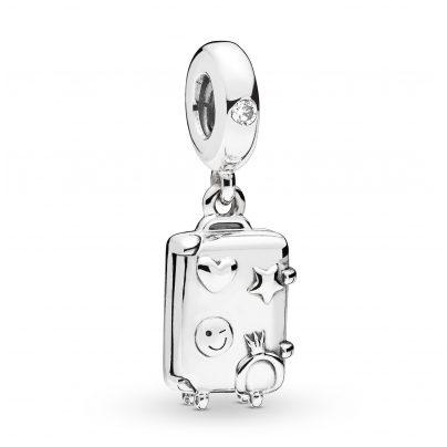 Pandora 797887EN160 Silver Charm Pendant Suitcase 5700302765304