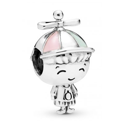 Pandora 798015ENMX Hat Boy Charm Propeller 5700302775853