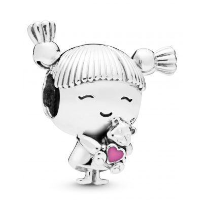 Pandora 798016EN160 Charm Girl with Pigtails 5700302775860