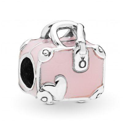Pandora 798063EN124 Charm Pink Travel Bag 5700302776072