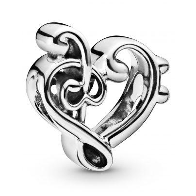 Pandora 798346 Charm Heart Treble Clef 5700302816976