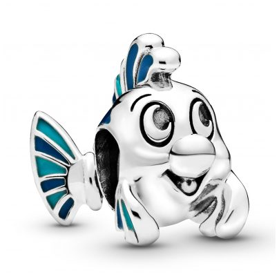Pandora 798230ENMX Silver Charm The Little Mermaid Flounder 5700302817706
