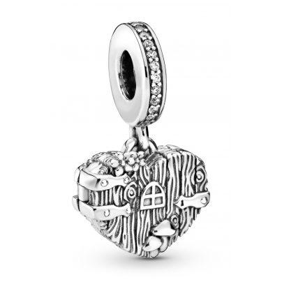 Pandora 798284CZ Silber Charm-Anhänger Home Sweet Heart 5700302817348