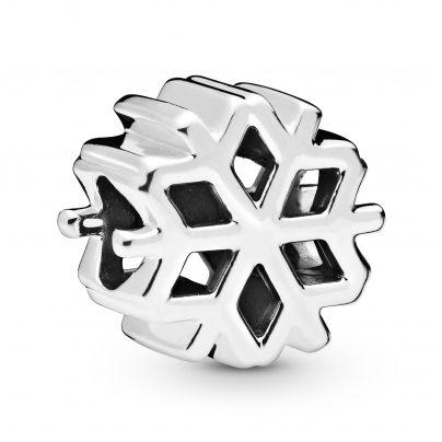 Pandora 798469C00 Charm Polished Snowflake Silber 5700302827163
