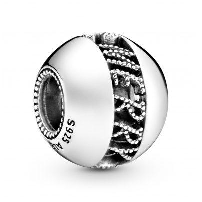 Pandora 798607C00 Silver Charm Openwork Merry Christmas 5700302841534