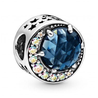 Pandora 798524C01 Silver Charm Moon & Night Sky 5700302827453