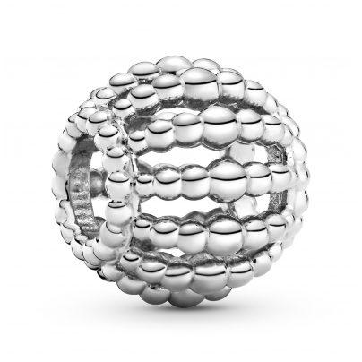 Pandora 798679C00 Silber Charm Beaded Openwork 5700302844658