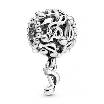 Pandora 798779C00 Silber Bead-Charm Musiknoten 5700302864342