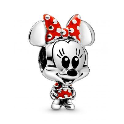Pandora 798880C02 Silber Charm Disney Minnie Maus Baby im gepunkteten Kleid 5700302869644