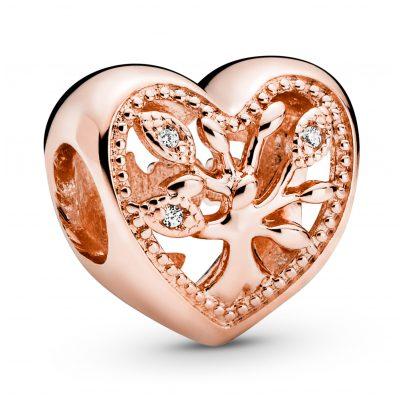 Pandora 788826C01 Rose Bead Charm Heart Family Tree 5700302864229