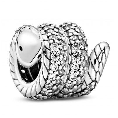 Pandora 799099C01 Silber Charm Funkelnde Schlange 5700302895728