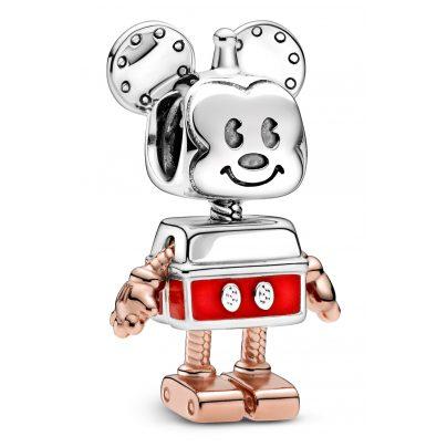 Pandora 789073C01 Rose Charm Mickey Mouse Robot 5700302895568