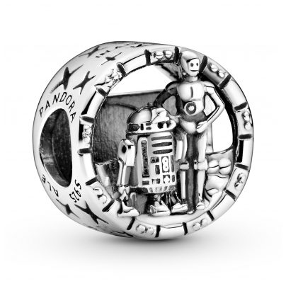 Pandora 799245C00 Silber Charm Star Wars C3-PO & R2-D2 5700302901269
