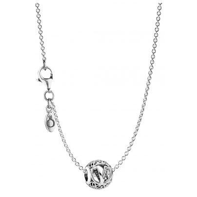 Pandora 35486 Halskette mit Buchstabe V 4260435354864
