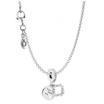 Pandora 08693 Halskette mit Charm Ice Carving 4260497086932