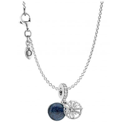 Pandora 08695 Necklace with Charm Dazzling Wishes 4260497086956