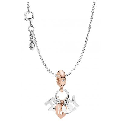Pandora 75393 Necklace with Pendant Perfect Family Silver 925 4260641753932