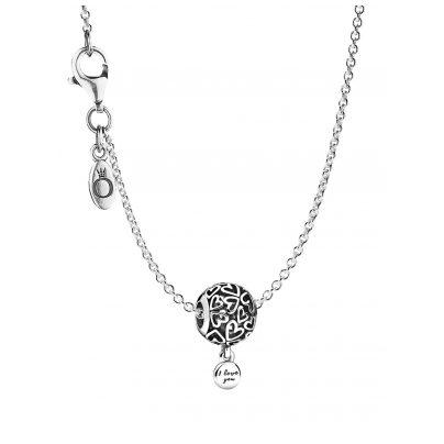 Pandora 75645 Halskette Openwork Love Hearts 4260641756452