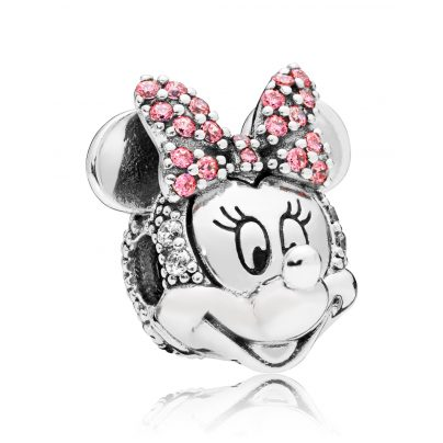 Pandora 797496CZS Clip-Element Shimmering Minnie Portrait 5700302692556