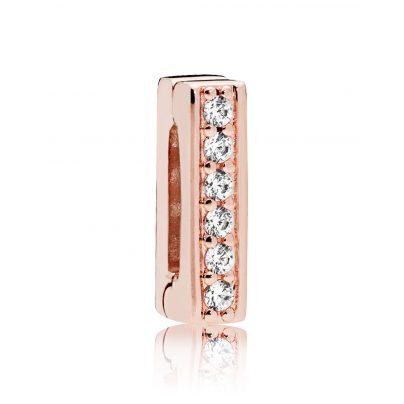 Pandora 787633CZ Reflexions Clip Charm Timeless Sparkle Rose 5700302698145