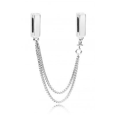 Pandora 797601 Reflexions Sicherheitskette Silber