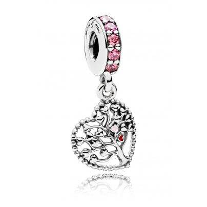 Pandora 796592CZSMX Dangle Charm Tree of Love 5700302629279