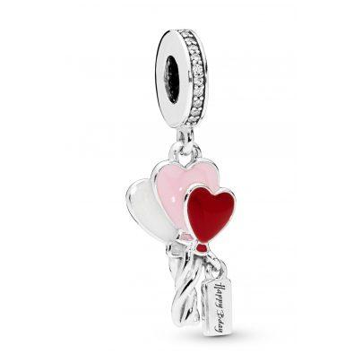 Pandora 798076CZ Charm-Anhänger Heart Balloons 5700302776522