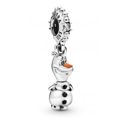 Pandora 798455C01 Silver Charm Pendant Disney Frozen Olaf 5700302827361