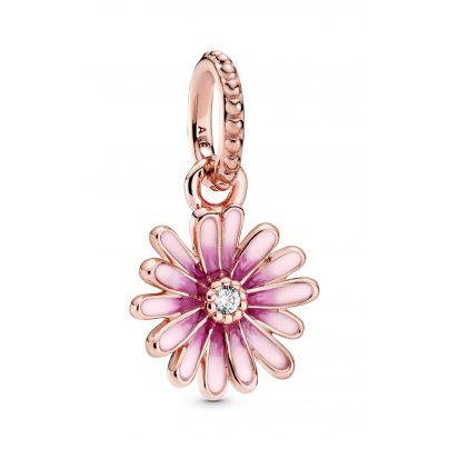 Pandora 788771C01 Rose Charm-Anhänger Pinkes Gänseblümchen 5700302864175