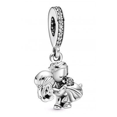 Pandora 798896C01 Silber Charm-Anhänger Brautpaar 5700302869552