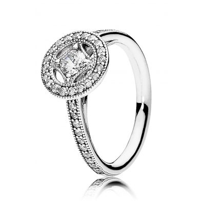 Pandora 191006CZ Ladies Ring Vintage Magic