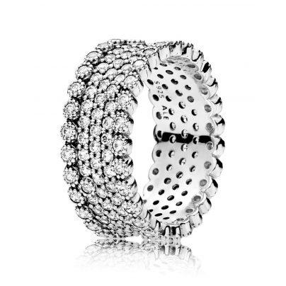 Pandora 196313CZ Damen-Ring Funkelnde Brillanz